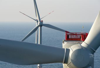 Photo du parc éolien Alpha Ventus, Borkum (Îles d'Yeu et de Noirmoutier)