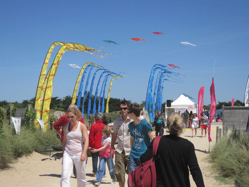 Photo prise lors du festival Bougez Natur'Ailes à la Barre de Monts Fromentine