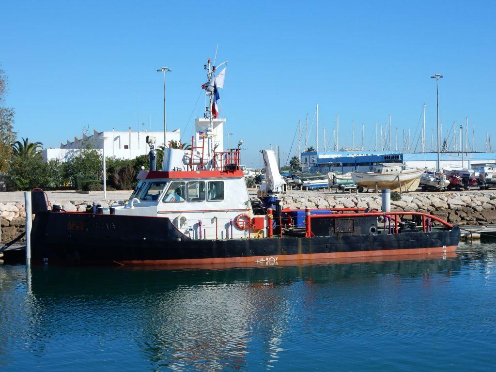 """Photo du nouveau bateau le """"MILO"""" de la société « Lamanage Huchet Desmars » (LHD)"""