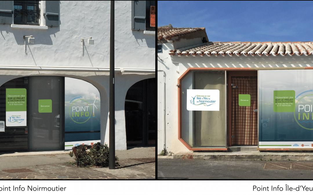L'ouverture des Points Info d'Yeu et de Noirmoutier