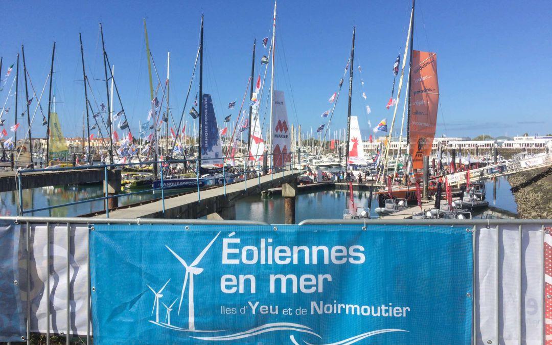 Eoliennes en mer aux côtés du Vendée Globe, c'est parti !