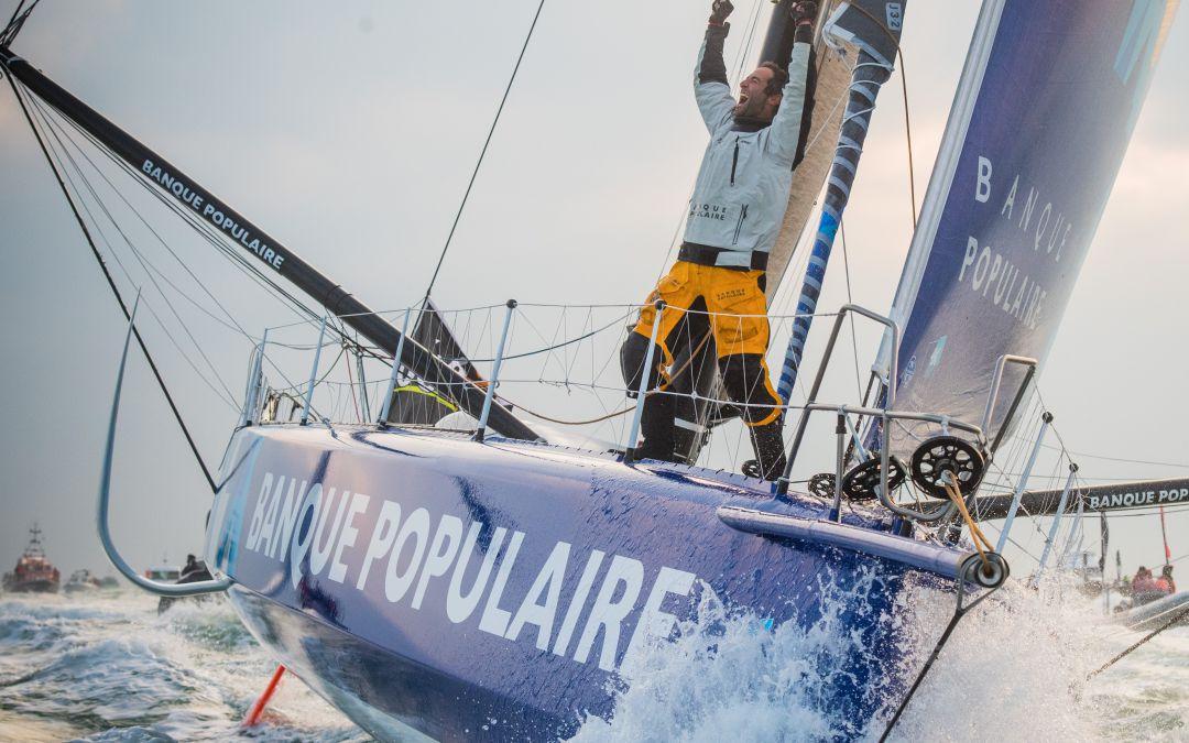 Armel Le Cléac'h, grand vainqueur de l'édition 2016-2017 du Vendée Globe