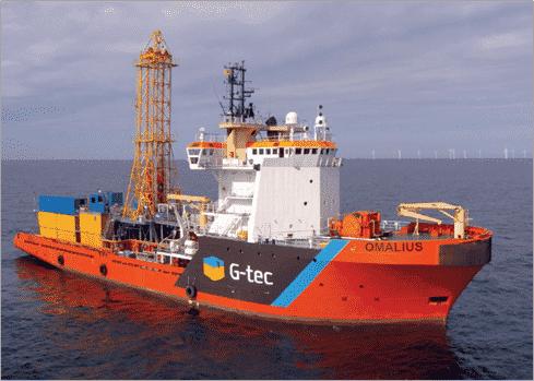 Focus – Une campagne géotechnique en mer