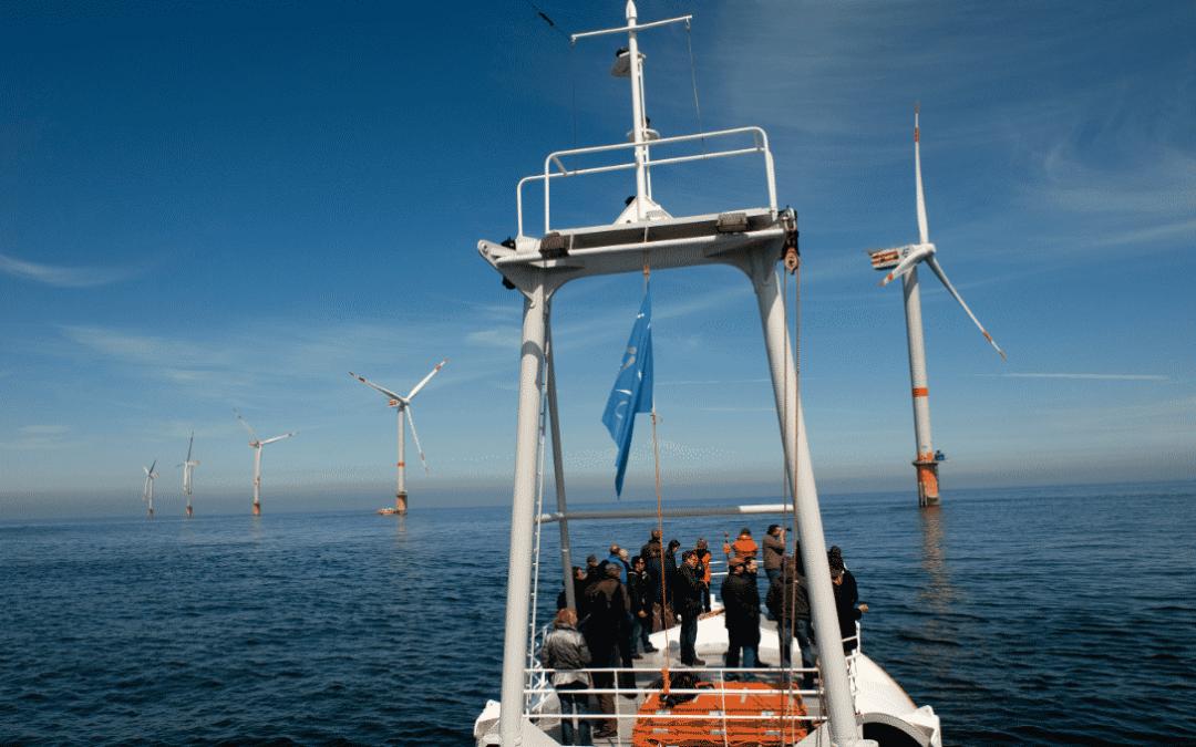 Tourisme éolien : l'exemple du parc de Thorntonbank en Belgique