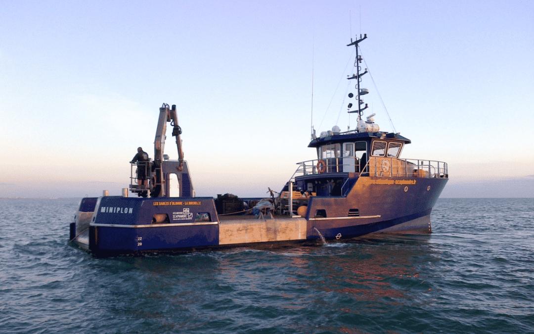 Focus – De nouvelles études techniques, déployées en mer