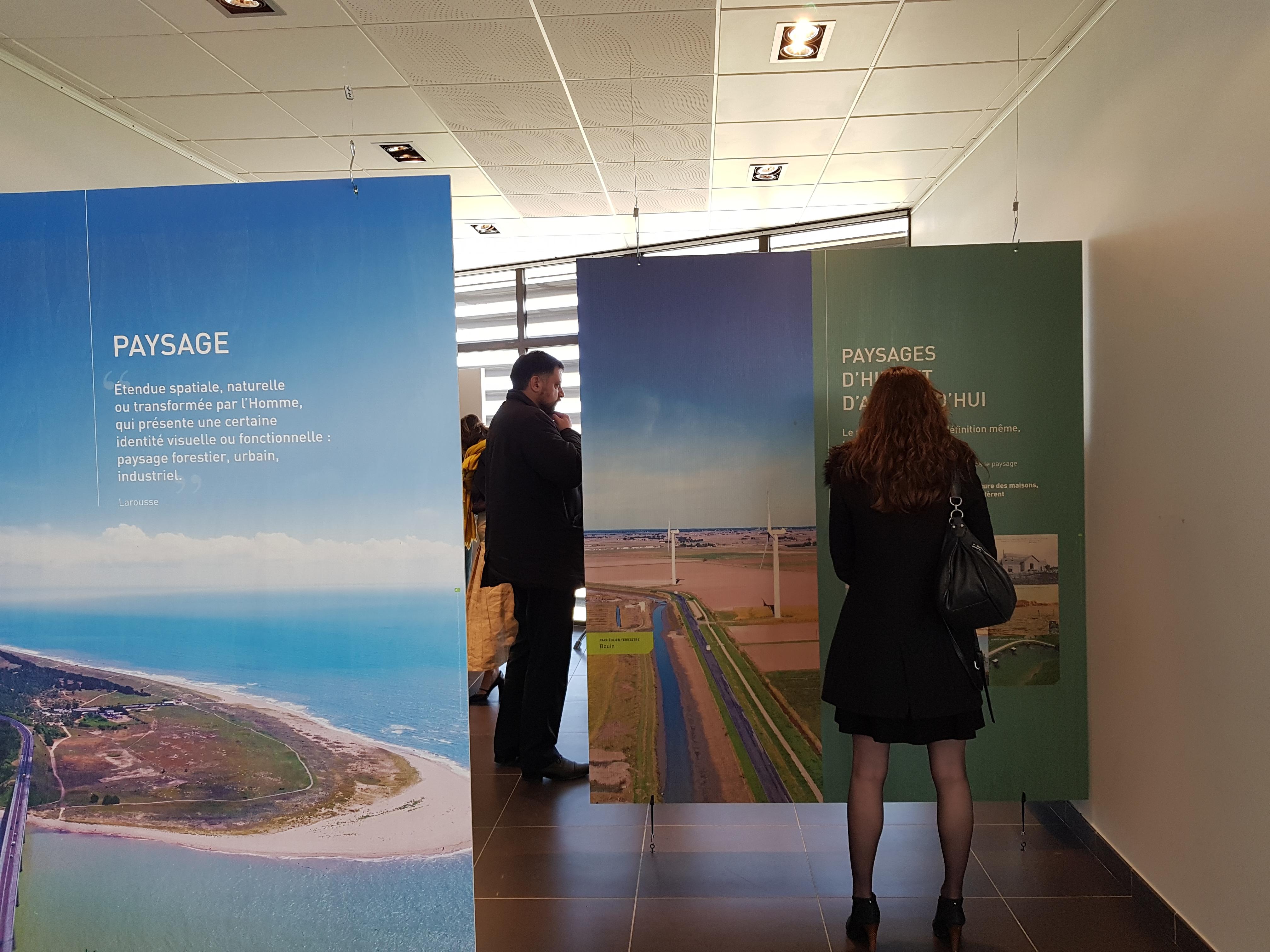 Une exposition «Le paysage, le vent et l'éolien en mer» à Kulmino