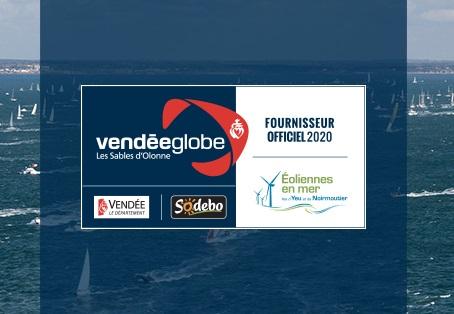 """EMYN """"Fournisseur Officiel"""" du Vendée Globe 2020-2021 et soutien de Benjamin Dutreux"""