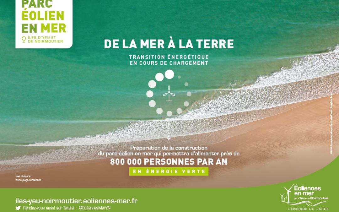 """""""De la mer à la terre"""" : une nouvelle campagne publicitaire"""
