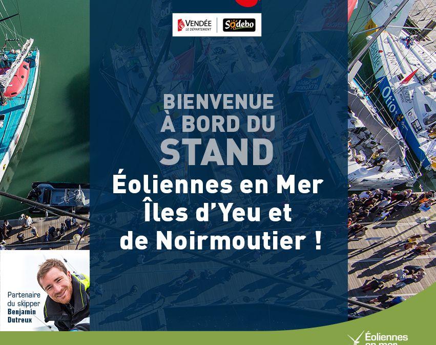 Vendée Globe : Bienvenue à bord du stand EMYN !