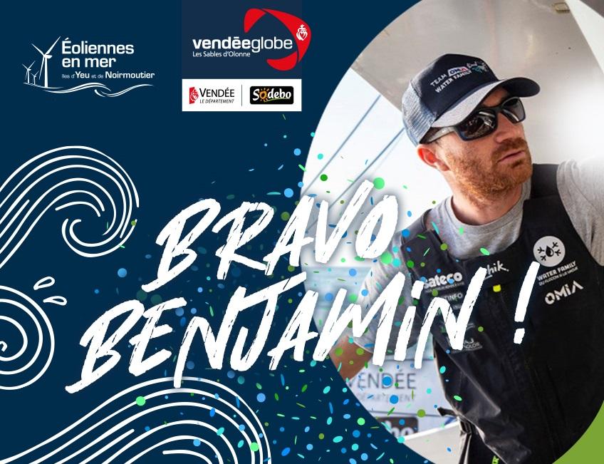Benjamin Dutreux : un remarquable premier tour du monde en 81 jours