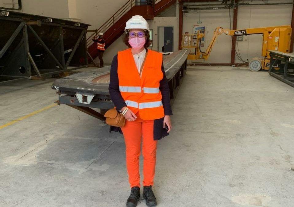Immersion dans la future usine d'éoliennes de Siemens Gamesa au Havre